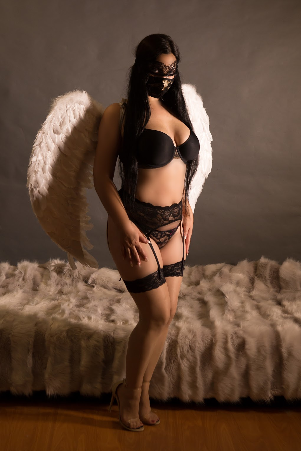 Sensuous, erotic massage by our beautiful massage therapist Alaia